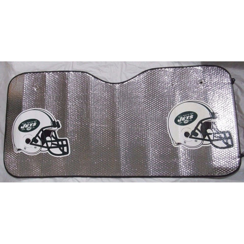 "NFL New York Jets ""HELMET"" Automotive Sun Shade Universal Size Team ProMark"