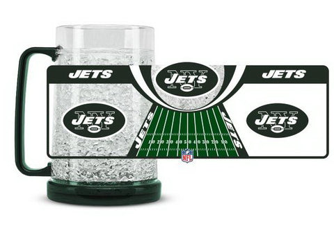 NFL New York Jets 16oz Crystal Freezer Mug by Duck House