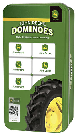 John Deere Dominoes Double 6 Game by Masterpieces Puzzles #41693