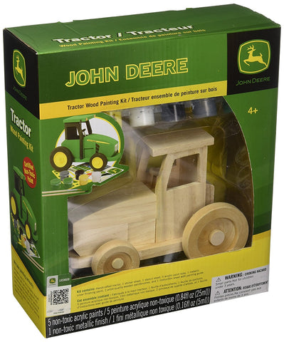 MasterPieces Works of Ahhh... John Deere Tractor Wood Paint Kit #21009