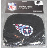 NFL Tennessee Titans Headrest Cover Embroidered Logo Set of 2 by Team ProMark