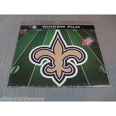 "NFL New Orleans Saints Die-Cut Window Film Approx. 12"" by Fremont Die"