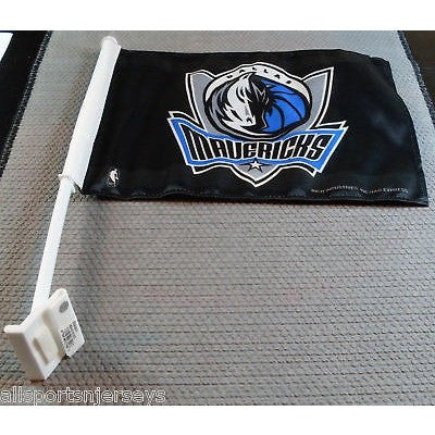 NBA Dallas Mavericks Logo on Window Car Flag by Rico Industries