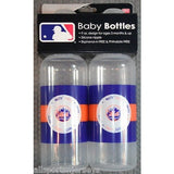 MLB New York Mets 9 fl oz Baby Bottle 2 Pack by baby fanatic