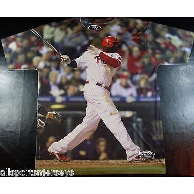 MLB RYAN HOWARD THREE60 HI-DEF PHOTO SHIRT XLARGE