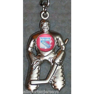 NHL New York Rangers Hockey Player Key Chain Logo on Chest CONCORD Ind.
