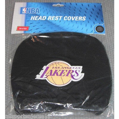 NBA Los Angeles Lakers Headrest Cover Embroidered Logo Set of 2 by Team ProMark
