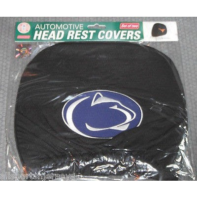 NCAA Penn State Nittany Lions Headrest Cover Embroidered Logo Set of 2 by Team ProMark