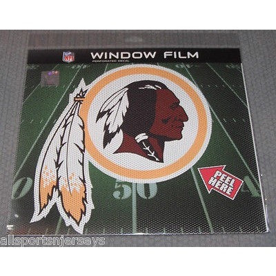 "NFL Washington Redskins Die-Cut Window Film Approx. 12"" by Fremont Die"