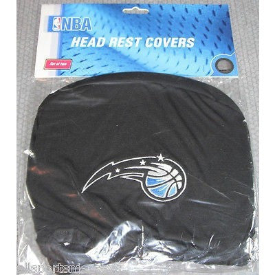 NBA Orlando Magic Headrest Cover Embroidered Alt Logo Set of 2 by Team ProMark