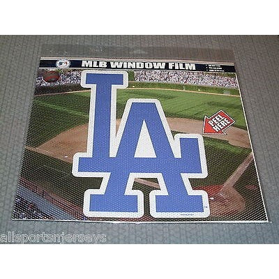 "MLB Los Angeles Dodgers Die-Cut Window Film Approx. 12"" by Fremont Die"