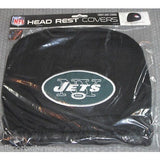 NFL New York Jets Headrest Cover Embroidered Logo Set of 2 by Team ProMark