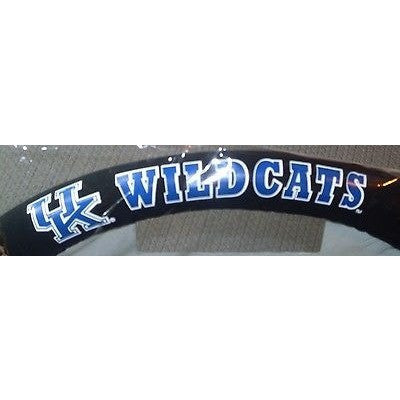 NCAA POLY-SUEDE MESH STEERING WHEEL COVER KENTUCKY WILDCATS