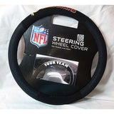 NFL POLY-SUEDE MESH STEERING WHEEL COVER WASHINGTON REDSKINS