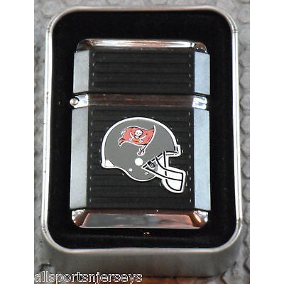 NFL Tampa Bay Buccaneers Refillable Butane Lighter w/Gift Box by FSO