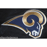 NFL Los Angles Rams Headrest Cover Embroidered Logo Set of 2 by Team ProMark