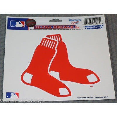 MLB Boston Red Sox 4 Inch Ultra Decal by WiNDCRAFT