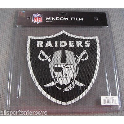 "NFL Oakland Raiders Die-Cut Window Film Approx. 12"" by Fremont Die"