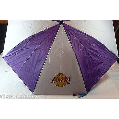 NBA Travel Umbrella Los Angeles Lakers By McArthur For Windcraft