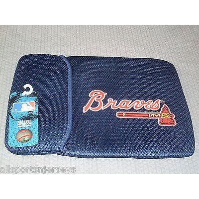 "MLB 10"" Atlanta Braves Netbook Sleeve 10"" by Team ProMark"