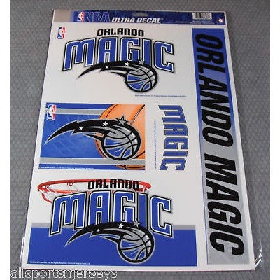NBA Orlando Magic Ultra Decals Set of 5 By WINCRAFT