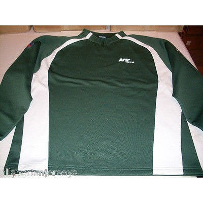 NFL REEBOK PULLOVER SHIRT NEW YORK JETS LARGE