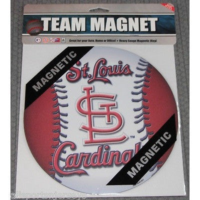 MLB St. Louis Cardinals 8 Inch Auto Magnet 2-tone Ball by Fremont Die