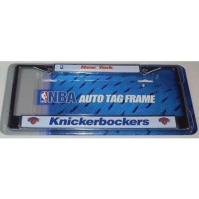 NBA New York Knicks / Knickerbockers Chrome License Plate Frame
