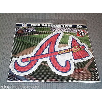 "MLB Atlanta Braves Die-Cut Window Film Approx. 12"" by Fremont Die"
