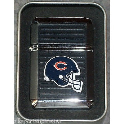 NFL Chicago Bears Refillable Butane Lighter w/Gift Box by FSO
