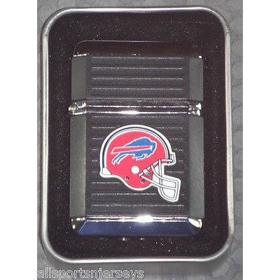 NFL Buffalo Bills Refillable Butane Lighter w/Gift Box by FSO