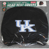 NCAA Kentucky Wildcats Headrest Cover Embroidered Logo Set of 2 by Team ProMark