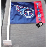 NFL Tennessee Titans Logo on Window Car Flag by Fremont Die