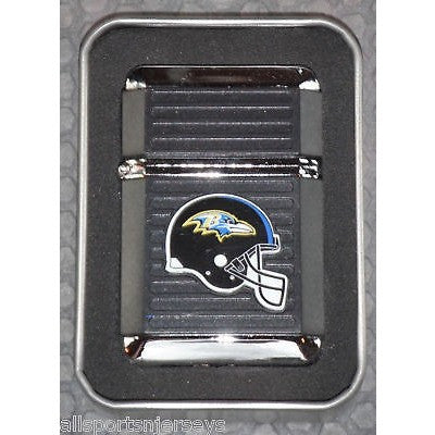 NFL Baltimore Ravens Refillable Butane Lighter w/Gift Box by FSO