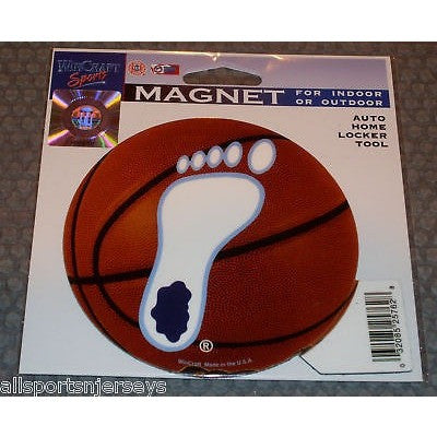 NCAA North Carolina Tar Heel on Basketball 4 inch Auto Magnet by WinCraft