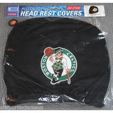 NBA Boston Celtics Headrest Cover Embroidered Logo Set of 2 by Team ProMark