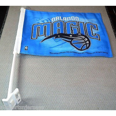 NBA Orlando Magic Logo on Window Car Flag by Rico Industries