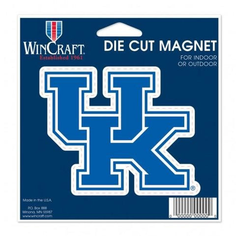NCAA Kentucky Wildcats 4 inch Auto Magnet by WinCraft
