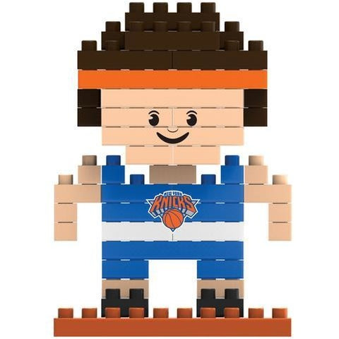NBA New York Knicks Team Player Shaped BRXLZ 3-D Puzzle 71 Pieces