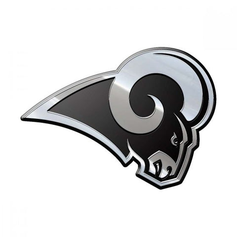 NFL Los Angeles Rams 3-D Chrome Heavy Metal Emblem By Team ProMark