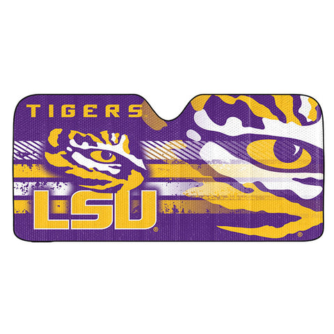 NCAA LSU Tigers Automotive Sun Shade Universal Size Team ProMark