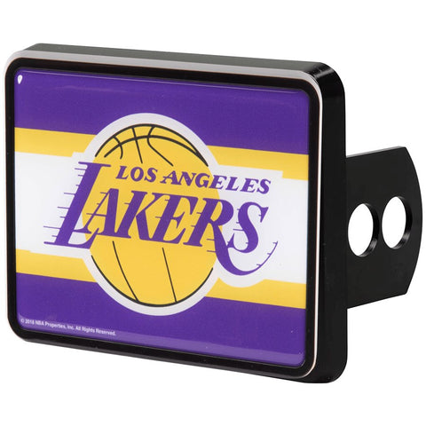 NBA Los Angeles Lakers Trailer Hitch Cap Cover Universal Fit by WinCraft