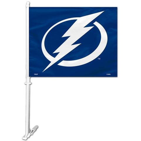 NHL Tampa Bay Lightning Logo Window Car Flag RICO or Fremont Die
