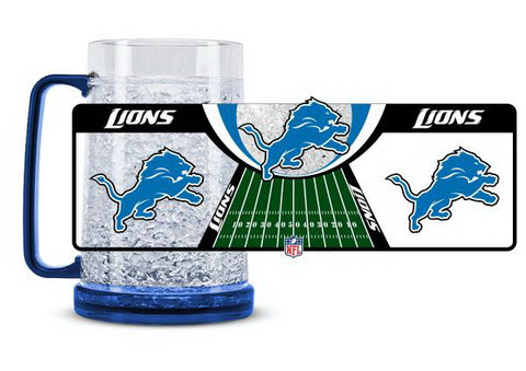 NFL Detroit Lions 16oz Crystal Freezer Mug by Duck House