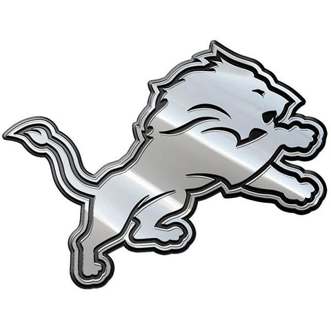 NFL Detroit Lions 3-D Chrome Heavy Metal Emblem By Team ProMark