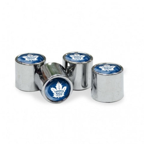 NHL Toronto Maple Leafs Chrome Tire Valve Stem Caps by WinCraft