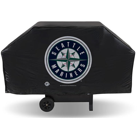 MLB Seattle Mariners 68 Inch Vinyl Economy Gas / Charcoal Grill Cover