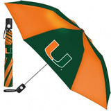NCAA Travel Umbrella Miami Hurricanes By McArthur For Windcraft