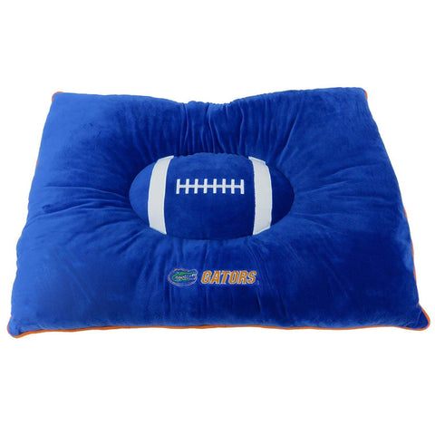 NCAA Florida Gators Embroidered Pillow Pet Bed 30″x20″x4 by Pets First, Inc