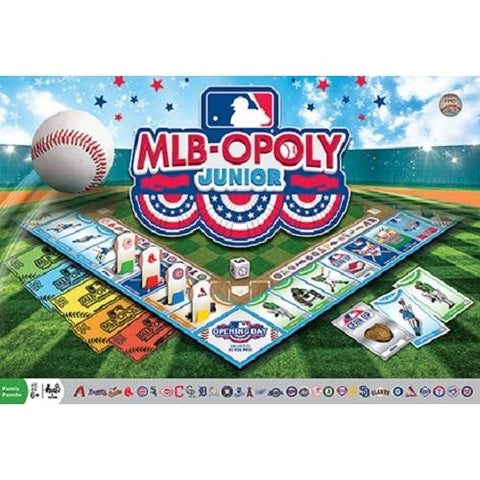 MLB-Opoly (Monopoly) Junior Board Game Masterpieces Puzzles Co.